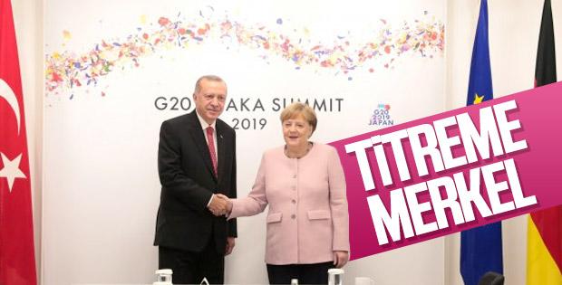 G-20 Zirvesi'nde Erdoğan-Merkel görüşmesi