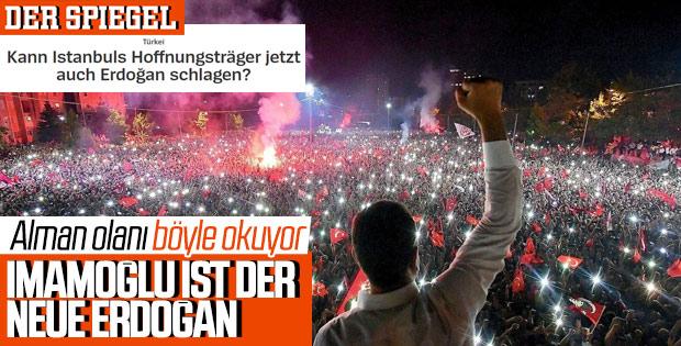 Der Spiegel İmamoğlu'nu Erdoğan'a benzetti