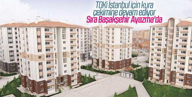 TOKİ, Başakşehir Ayazma'da hak sahiplerini belirledi