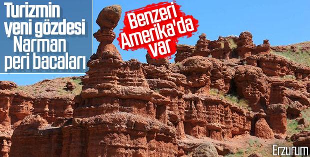 Erzurum'un yeni gözdesi: Kırmızı periler diyarı