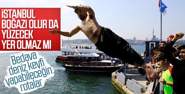 İstanbul Boğazı'nda kulaç attıran kıyılar