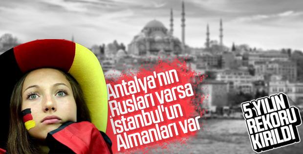 İstanbul'da son 5 yılın turizm rekoru kırıldı