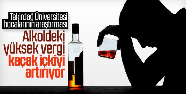 Üniversite hocaları kaçak içki tüketimini araştırdı