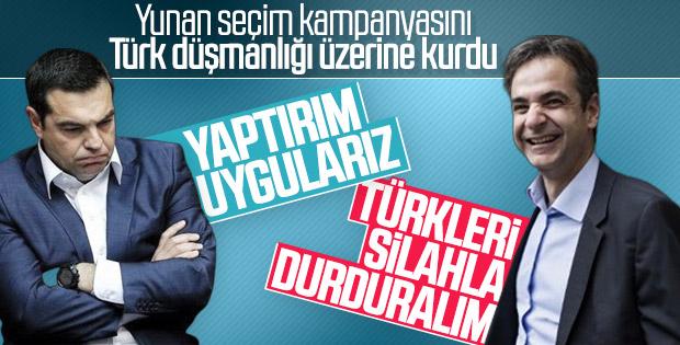 Yunanistan'da liderlerin ortak düşmanı Türkiye