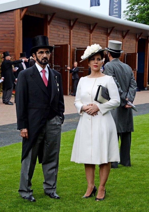 İngiltere'ye kaçan Prenses Haya hakkında yasak aşk iddiası