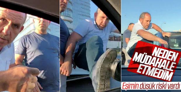 İstanbul'da hamile eşiyle saldırıya uğrayan şahıs konuştu