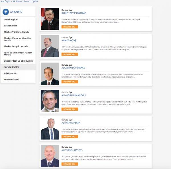 AK Parti, Ali Babacan'ı kurucu üyeler listesinden çıkardı