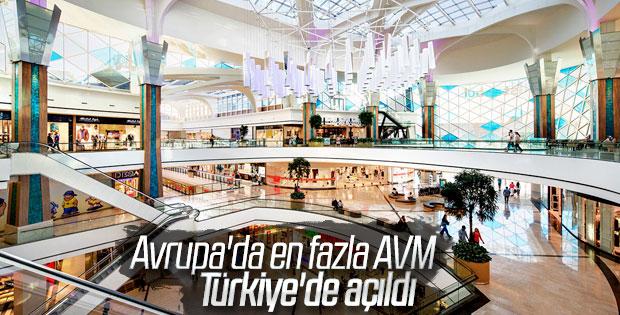 Avrupa'daki alışveriş merkezi pazarında Türkiye lider