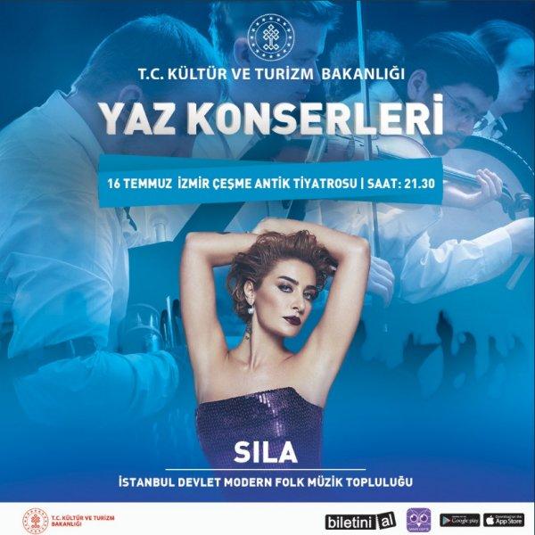 Kültür ve Turizm Bakanlığı konser için Sıla ile anlaştı