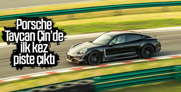 Porsche Taycan testi geçti