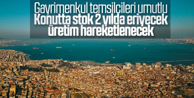 Türkiye'de 2 yılda konut stoğu eriyecek