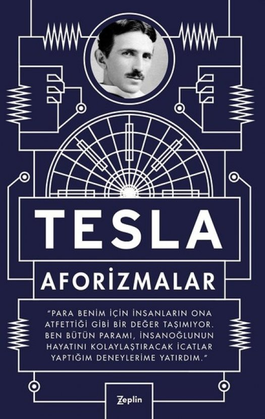 Elektrik tutkunu mucit Tesla'nın kitapları ve akım savaşları
