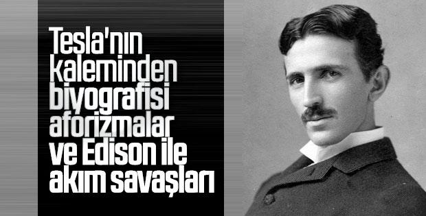 Elektrik tutkunu mucit Tesla'nın kitapları
