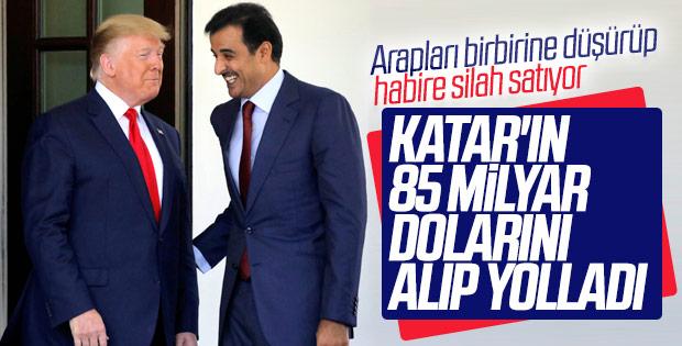Amerika ile Katar arasında 5 yeni anlaşma