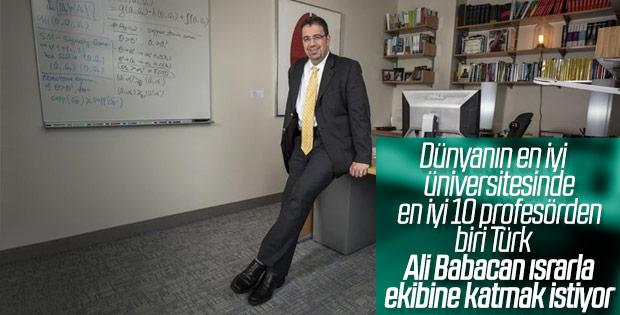 Ali Babacan'ın Daron Acemoğlu ısrarı