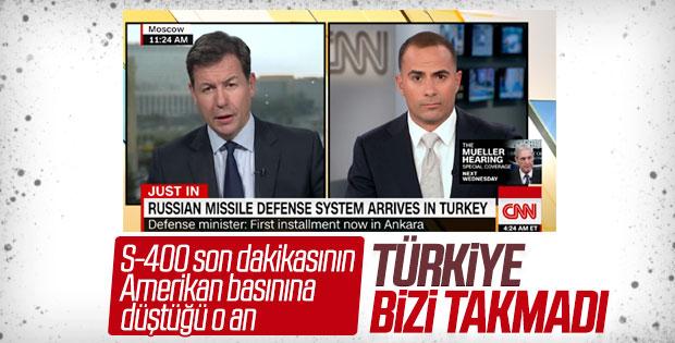 Türkiye'ye yapılan S-400 sevkiyatı Amerikan basınında