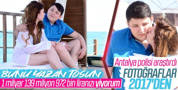 Antalya polisi Tosun'un fotoğraflarını araştırdı