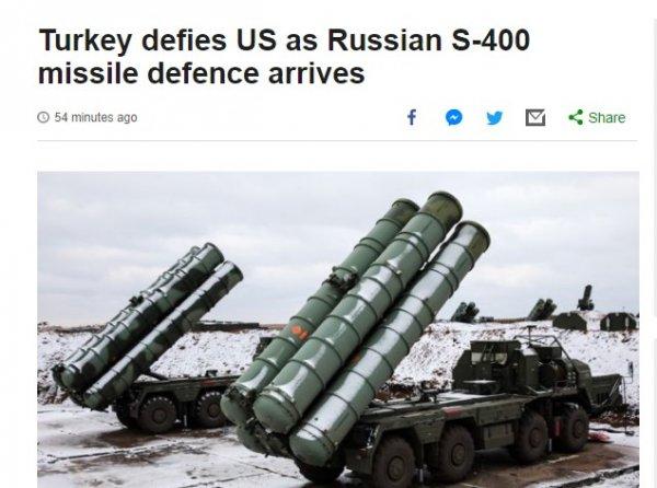 Batı medyası: Türkiye ABD'ye meydan okuyor