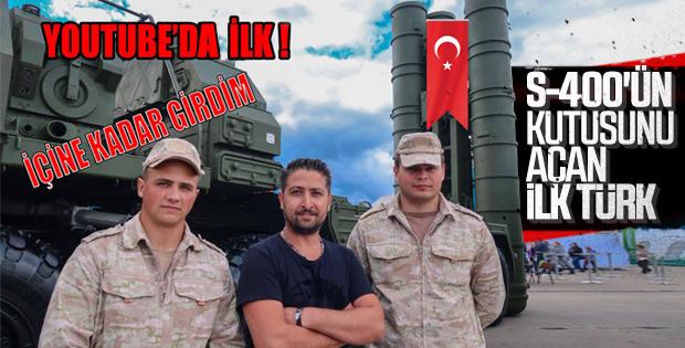 Türk YouTuber S-400'ü yerinde inceledi