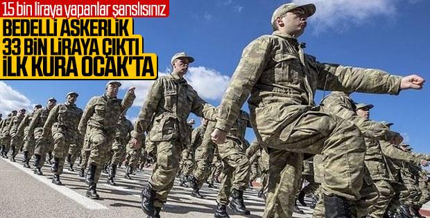 Bedelli askerlik başvuruları 16 Temmuz'da başlıyor