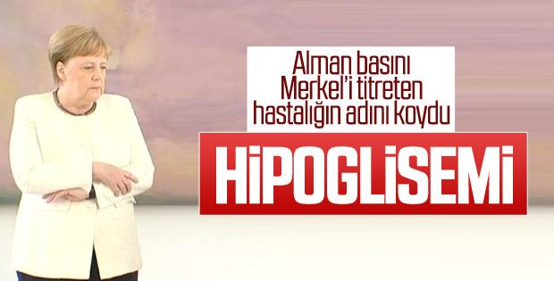 Merkel'in titremesinin nedeni: Hipoglisemi atağı