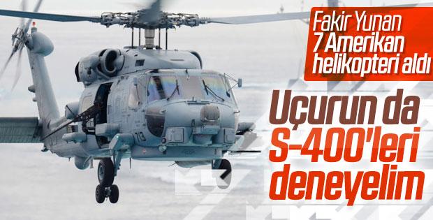 ABD'den, Yunanistan'a helikopter satışına onay çıktı