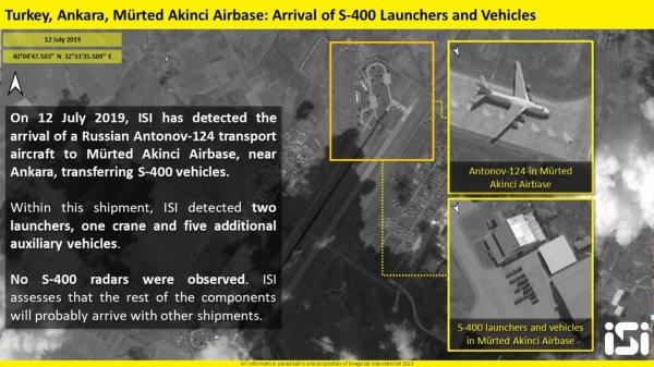 İsrail S-400'ün uydu görüntülerini paylaştı