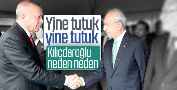 Kılıçdaroğlu, Erdoğan karşısında yine tutuk kaldı