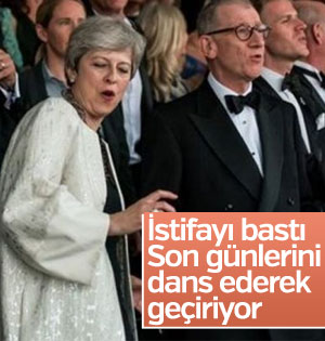 Theresa May yine dans etti