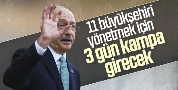 Kemal Kılıçdaroğlu partilileri kampa alıyor