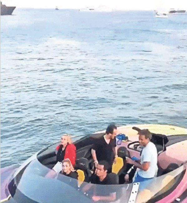 Acun Ilıcalı'nın Yunanistan kaçamağı