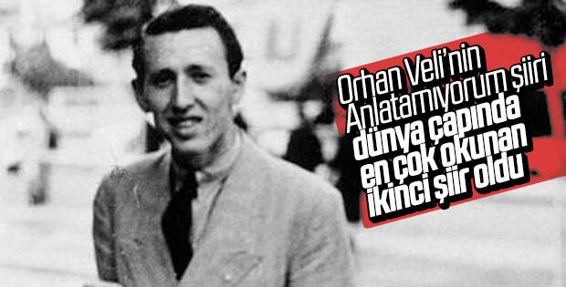 Orhan Veli, dünyanın en çok okunan ikinci şairi