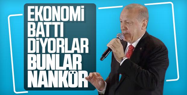 Cumhurbaşkanı Erdoğan, 15 Temmuz anmasında
