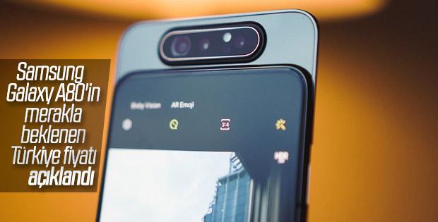 Samsung Galaxy A80'in Türkiye fiyatı belli oldu