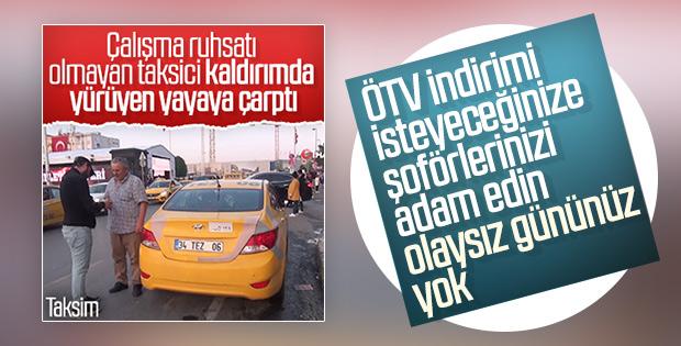 Taksiciler yine ÖTV muafiyeti istiyor