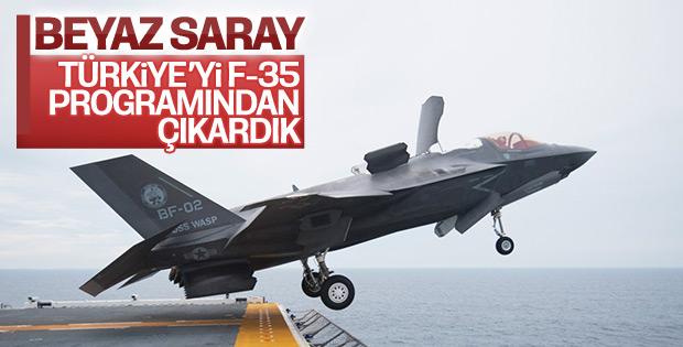 Beyaz Saray: Türkiye'nin F-35 alması mümkün değil