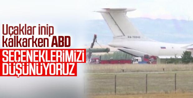 ABD: Türkiye'nin S-400'leri için seçenekleri düşünüyoruz