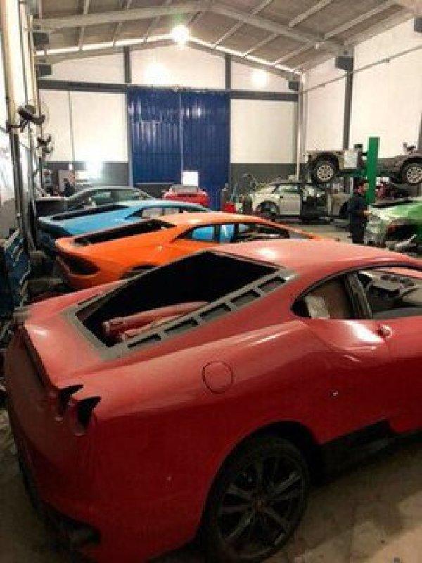 Brezilya'da sahte lüks araç üreten fabrikaya baskın
