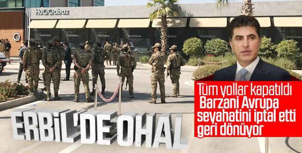 Terör saldırısı sonrası IKBY alarma geçti