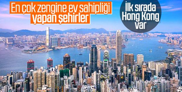 Dünyada en fazla zengine ev sahipliği yapan şehirler