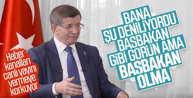 Ahmet Davutoğlu soruları yanıtladı