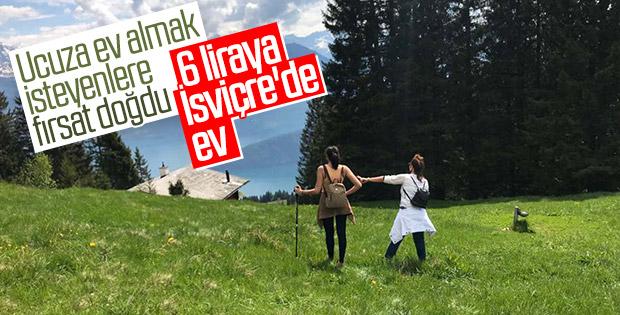 İsviçre'de 6 TL'ye satılan köy evleri