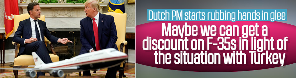 Dutch Prime Minister asks for discount on F-35 jets