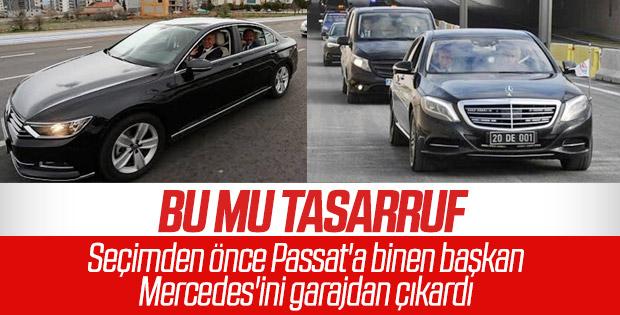 Osman Zolan seçimden sonra Mercedes'e binmeye başladı