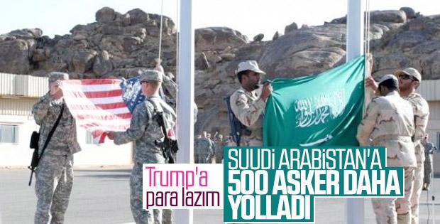 ABD, Suudi Arabistan'a 500 asker gönderecek