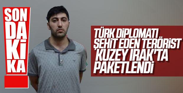 Türk diplomatı şehit eden Mazlum Dağ yakalandı