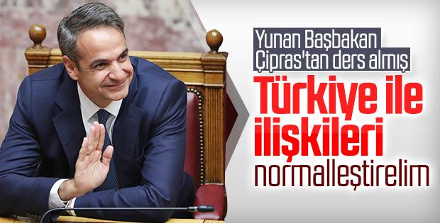 Yunanistan Başbakanı'ndan Türkiye'ye olumlu mesajlar