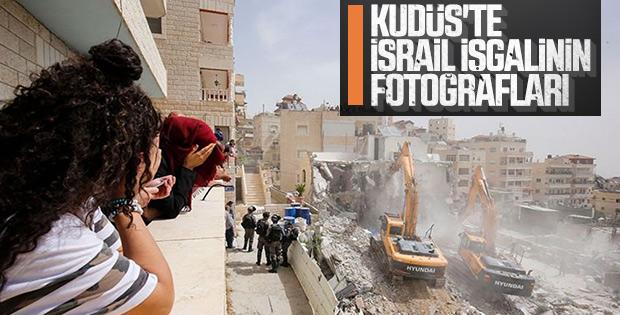 İsrail güçleri Doğu Kudüs'te yıkıma başladı