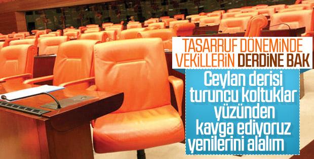 Vekiller, Meclis'in koltuklarından şikayetçi