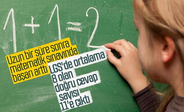 LGS'de öğrencilerin matematik başarısı arttı